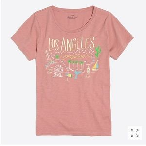 J.crew Factory Los Angeles collector t-shirt
